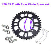 428 39tooth Rear Chain Sprocket For Chinese Pit Dirt Trail Bike Motorcycle Parts