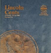 Volume 1 Lincoln Cents Collection Starter Book 1909 - 1940 Ac-487