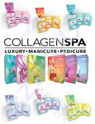 La Palm Collagen Spa 6 Step Manicure/pedicure Kit -choose From 6 Luxury Scents