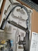 Delta Faucet Pivotal Single Handle Exposed Hose Kitchen Pullout Arctic Stainless