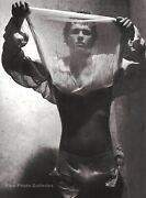 2002 Vintage Bruce Weber Semi Nude Young Male Man Fashion Sweden Photo Art 16x20