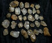 Top Quality Window Fenster And Herkimer Style Quartz 1835 Grams And 32 Pcs