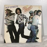 Vintage Chicago Lp Hot Streets 1978 Columbia Vinyl Record With Inner Sleeve