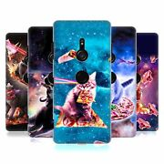 Official James Booker Space Cat Hard Back Case For Sony Phones 1