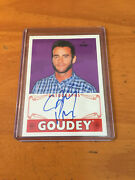 2016 Ud Goodwin Champions Cm Punk Autograph Card Goudey Wwe Ufc On Card Auto
