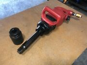 Sioux Tools 1 Super Duty D Handle Impact Wrench With 6 Anvil Extension 5093l