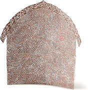 Willow Tree Shelter For The Holy Family Pierced-metal Nativity Backdrop
