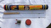 Gabby Hayes Carry All Fishing Outfit Kit Vintage Advertising Rare