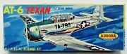 1957 Aurora 70-69 At-6 Texan 148 Model Kit Famous Fighters Cn