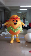 Colored Eggs Mascot Costume Suits Cosplay Party Game Dress Outfits Clothing Ad