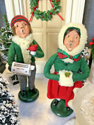 Byers' Choice The Carolers 1986 Traditional Girl 1987 Traditional Boy Carolers