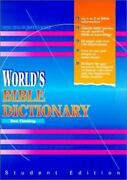 World's Bible Dictionary Student Ed, Don Fleming - Hc -brand New ..free Ship