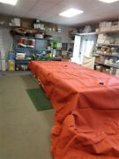 Tracker Party Barge 25 Cover Canyon Mist Burnt Orange 31487-33 Marine Boat