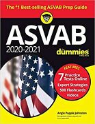2020/2021 Asvab For Dummies Book 7 Practice Angie Papple Johnston Paperback New