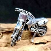 New Off- Road Motorcycle Model 925 Solid Sterling Silver Biker Collectible Cool