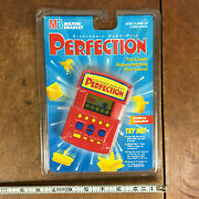 Rare Vintage Milton Bradley Perfection Hand Held Travel Electronic Game Toy 90s