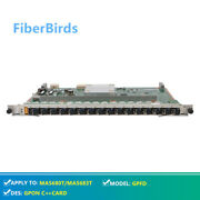 Gpfd Gpon Card For Huawei Ma5608t Ma5680t Or Ma5683t Olt With 16 Sfps C++