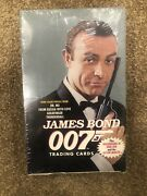 James Bond 007 Collectible Trading Cards Sealed In Box