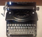 Remington Rand Model 1 Portable Typewriter - Pd 158303 - 1930and039s