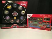 Disney Pixar Cars Mini Racers Variety And Classic 10 Pack Lot Of 2 Ships Wordlwide