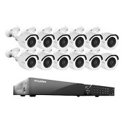 Laview 16 Channel Dvr Security System W/12 Hd 1080p Indoor/outdoor Surveillance