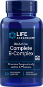 4x 8.62 Life Extension Bioactive Complete B-complex 4 Month Supply Vitamin B