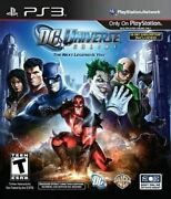 Dc Universe Online - Authentic Sony Playstation 3 Ps3 Game