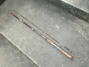 Vintage Southbend South Bend Spinning Spin Reel Rod Pole Cork Handle Fishing