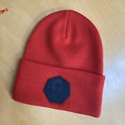 Neff Death Trooper R1 Beanie Star Wars Rouge One Collection Red Unisex Os Nwot