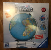 Ravensburger 3d Globe 540 Piece Puzzle And Stand