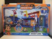 Rusty Rivets Nickelodeon Spin Master Rivet Lab Includes Figure And Build Closes Fo