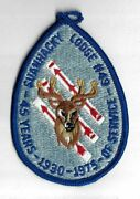 Oa 49 Suanhacky 1930-1975 45 Yrs. Of Service Flap Blu Bdr. Queens Ny [ny-1688]