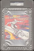 Joe Satriani And Stan Lee Signed Marvel Surfing With The Alien Cd Cover Psa/dna