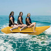 Inflatable Towable Tube For Boating 3-person Surfing Commercial Banana Boat