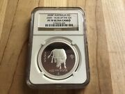 Australia 2008 2009 Lunar Year Of Ox 1oz Silver Proof Coin Ngc Pf 70