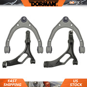 Fits Q7 2007 Front Upper And Lower Lh Rh Control Arms And Ball Joints - Dorman