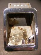 1966 Chrysler Newport Ashtray Receptacles Oem Pair New Yorker 300 Town And Country