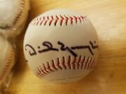 Dick Yuengling Beer Owner Autograph Baseball Americas Oldest Brewery Eagle Logo