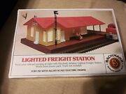 Bachman Lighted Freight Station. Unused In The Box.