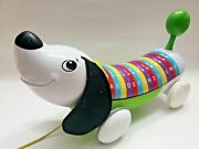 Leapfrog Alphapup Alphabet Dog Puppy Piano Learning Abcs Music Pull Along