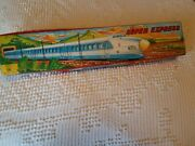 Very Rare Friction Super Express Japanese Made Metal 28 Long Train Art. Ms-118