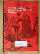 The Distinguished Conduct Medal 1914-20 Citiations Rhodesia South/ East Africa