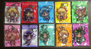 Sailor Moon Crystal Acrylic Key Chain Strap Ring Exhibition All 10 Set