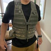 Sds Official Us Molle Ii Army Acu Flc Load Carrying Vest Ca