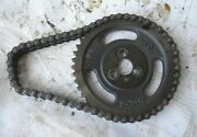 1974 Carver 25and039 Boat Omc 225 Gm 307 5.0l Timing Gear And Chain