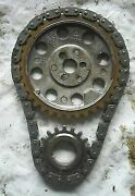 1985 Volvo Penta Marine Aq 260a Gm 350 5.7l Timing Chain And Gear