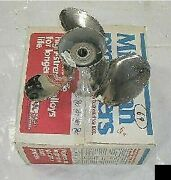 New Old Stock Michigan Wheel Stainless Johnson Evinrude Omc 14 X 19 Boat Prop