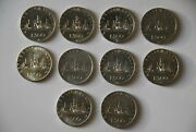 Italy Siver Coins 500 Lire , 70 Pcs ,columbus , Caravelle , 1958-1967 Italy