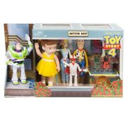 Disney Pixar Toy Story 4 Antique Shop 8 Figure Pack 3+ New Sealed New In Box