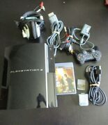 Playstation 3 Av Cables Controller Head Phones The Last Of Us Video Game